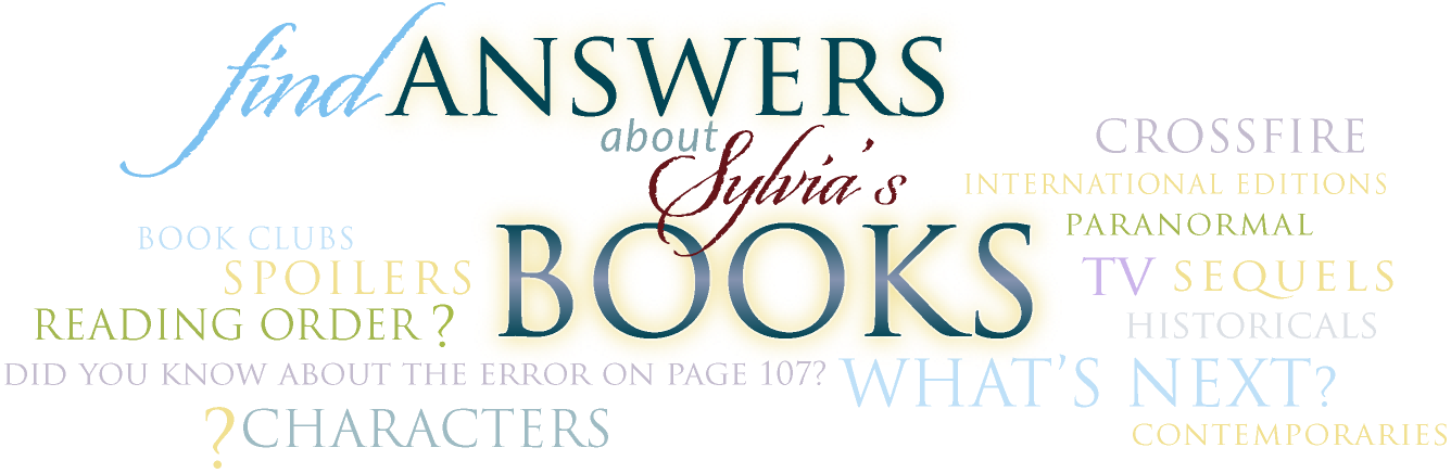 Find Answers about Sylvia's Books