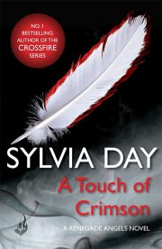 A Touch of Crimson UK Cover