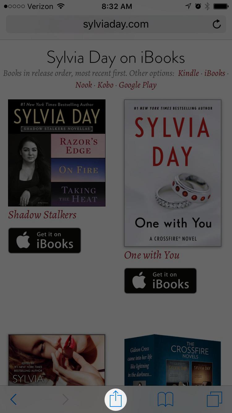 Share Sylvia Day