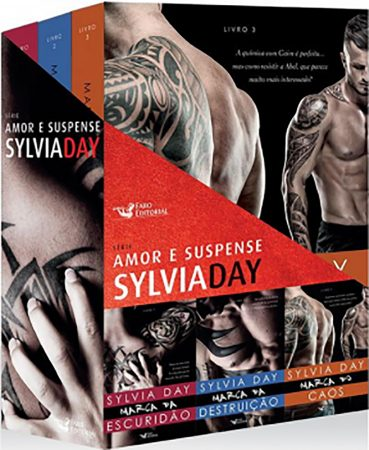 marked box set Brazil Sylvia Day