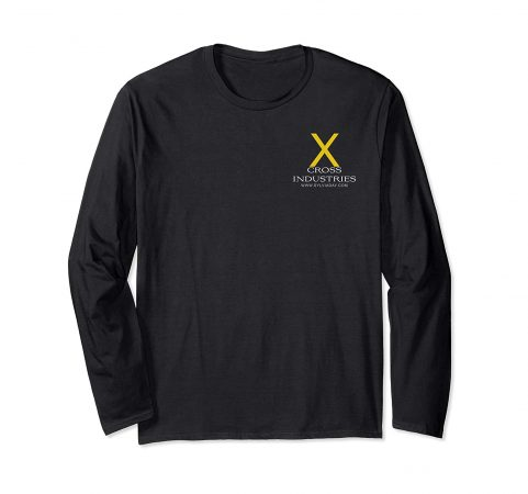 Cross Industries (black shirt, long sleeve)